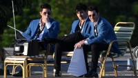 Jonas Brothers shoot new music video in miami