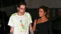 Pete Davidson Kate Beckinsale kiss