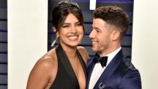 Priyanka Chopra and Nick Jonas smiling.