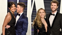 Priyanka Chopra Nick Jonas Double Date with Miley Cyrus Liam Hemsworth