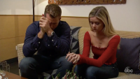 Colton Underwood Hannah G break up the bachelor finale night one