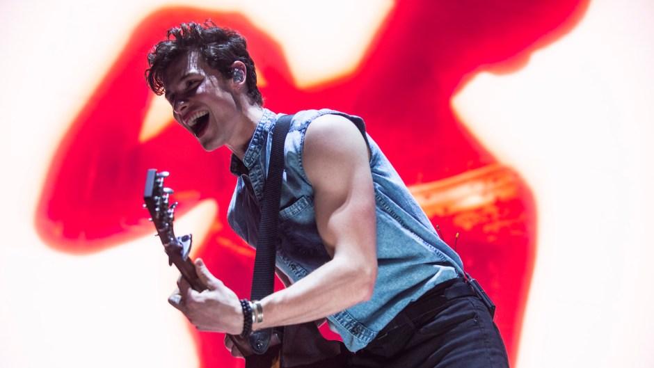 Shawn Mendes biceps lead