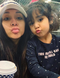 """A selfie of Nicole """"Snooki"""" Polizzi and her daughter Giovanna on Instagram"""