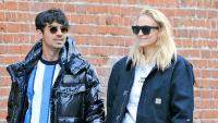 Sophie Turner and Joe Jonas hold hands while walking in SoHo