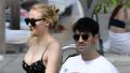 Sophie Turner and Joe Jonas in Miami.
