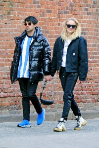 Sophie Turner and Joe Jonas hold hands as they stroll through SoHo
