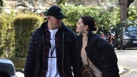 Channing Tatum and Jessie J are seen hand in hand in London
