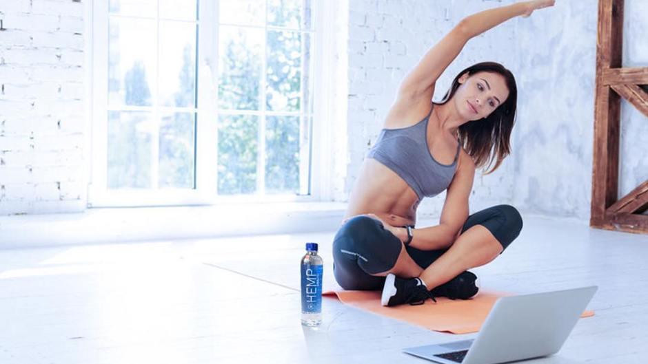 hemp water yoga
