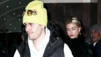 justin and hailey step out in brooklyn together for his bday
