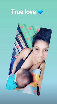 90 Day Fiance Karine Staehle Breastfeeding Baby Pierre