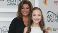 Abby Lee Miller posing with Maddie Ziegler