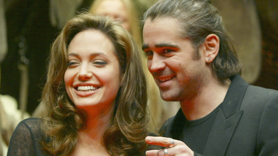 Angelina Jolie and Colin Farrell