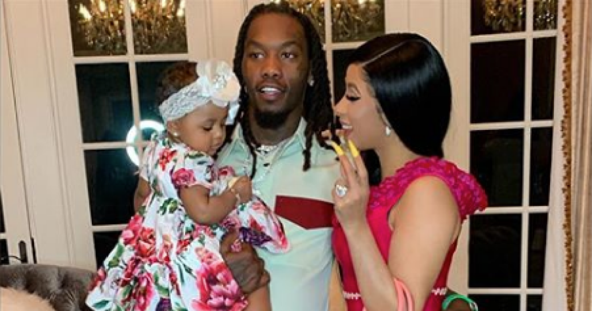 Life & Style Magazine on Flipboard: Cardi B's Husband Offset Proves He's  Dad Goals While He Remains Patient Doing Baby Kulture's Hair