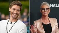 Chad Michael Murray and Jamie Lee Curtis