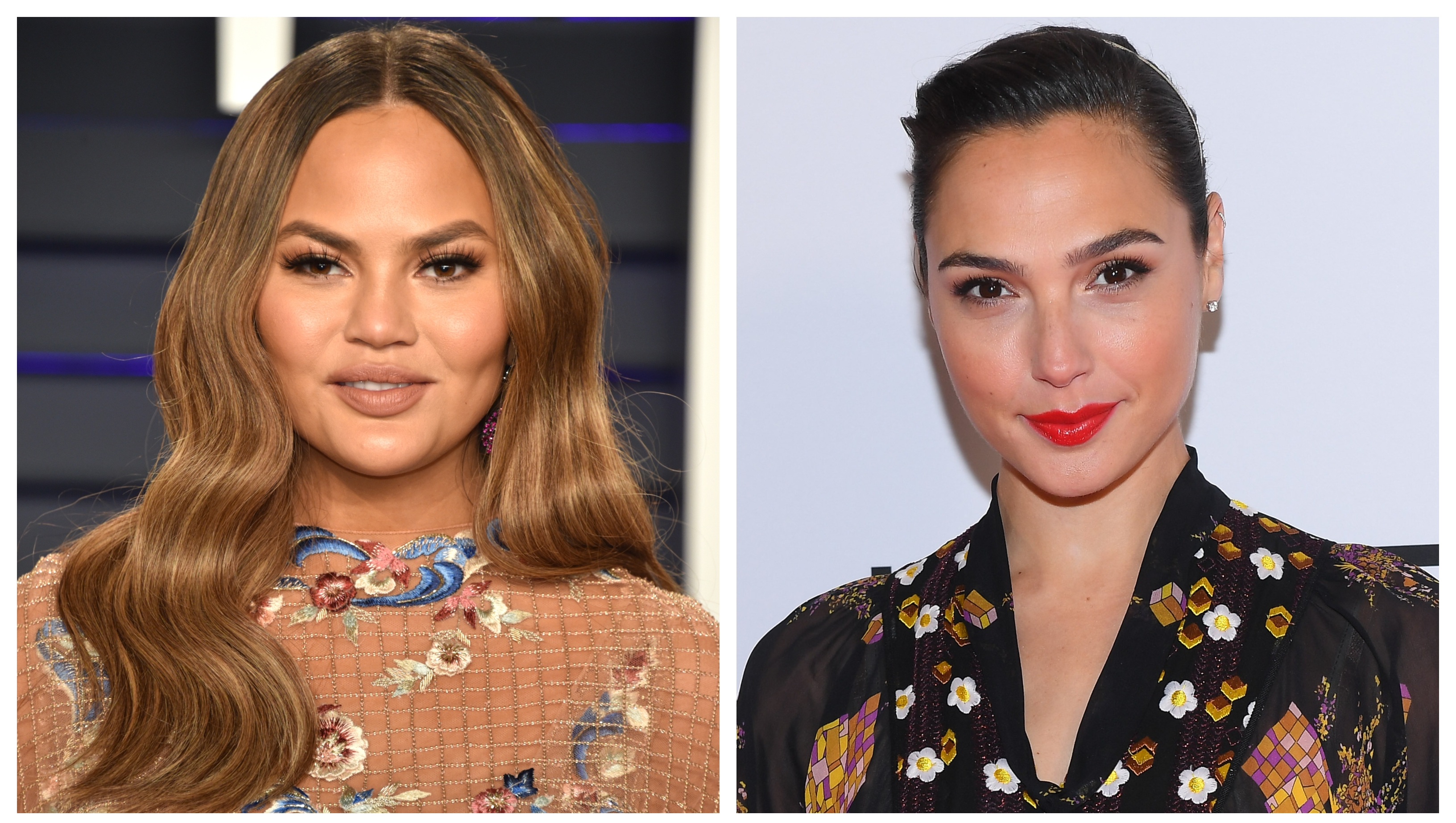 Gal Gadot Offered to Send Chrissy Teigen's Daughter a New Wonder Woman Action Figure and It's so Pure