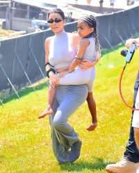 Coachella Weekend 2 Kardashian Kim North West