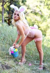 Courtney Stodden Easter Lingerie