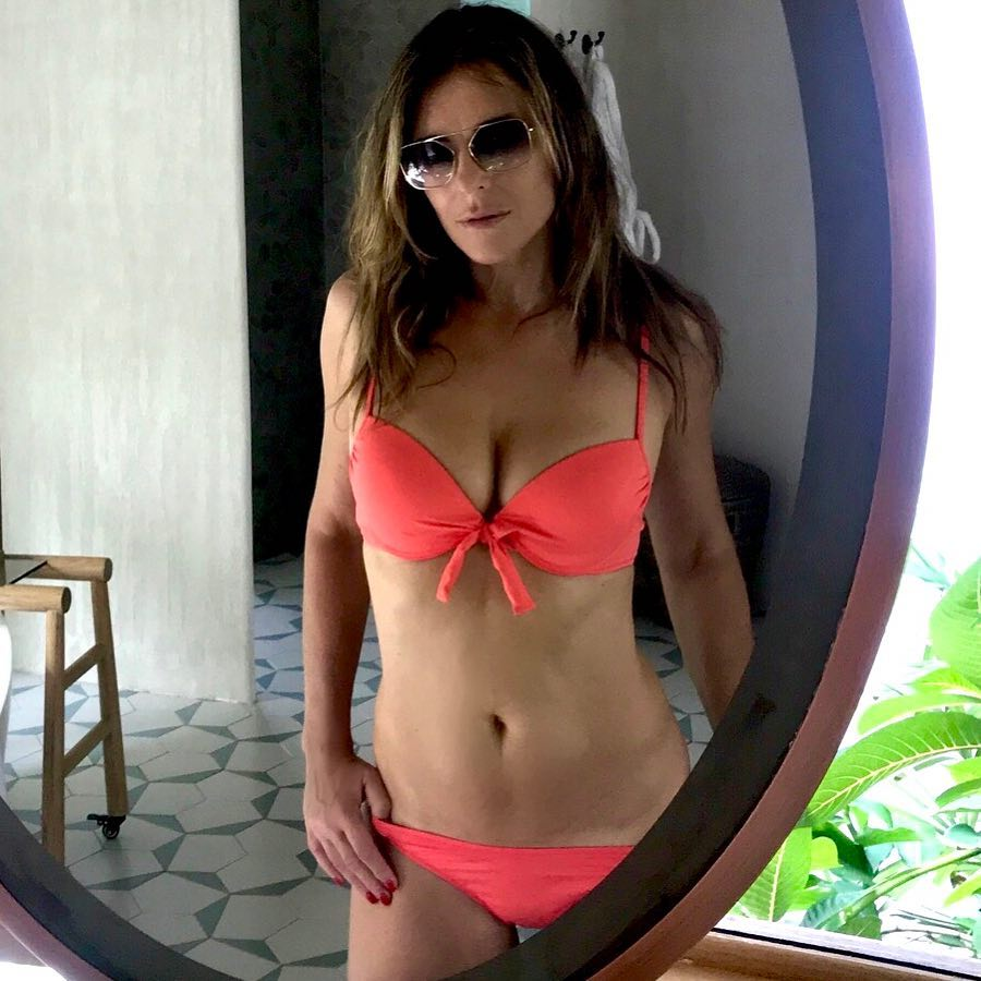 c36495b8d71 Elizabeth Hurley's Bikini Body Is Out of Control! See Her Hottest Looks
