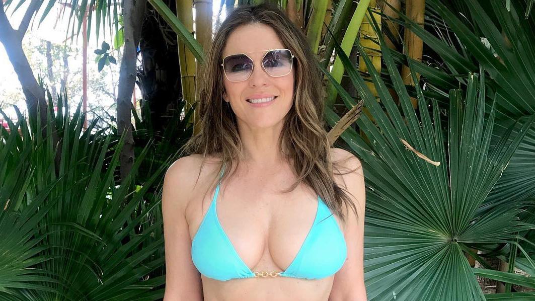 Elizabeth Hurley Serves Major #Fitspo at 53 Years Old: See the Mom-of-1's Killer Bikini Body!