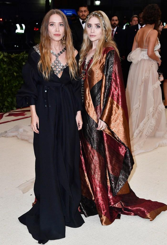 Mary-Kate Olsen Ashley Olsen Fashion Met Gala 2018