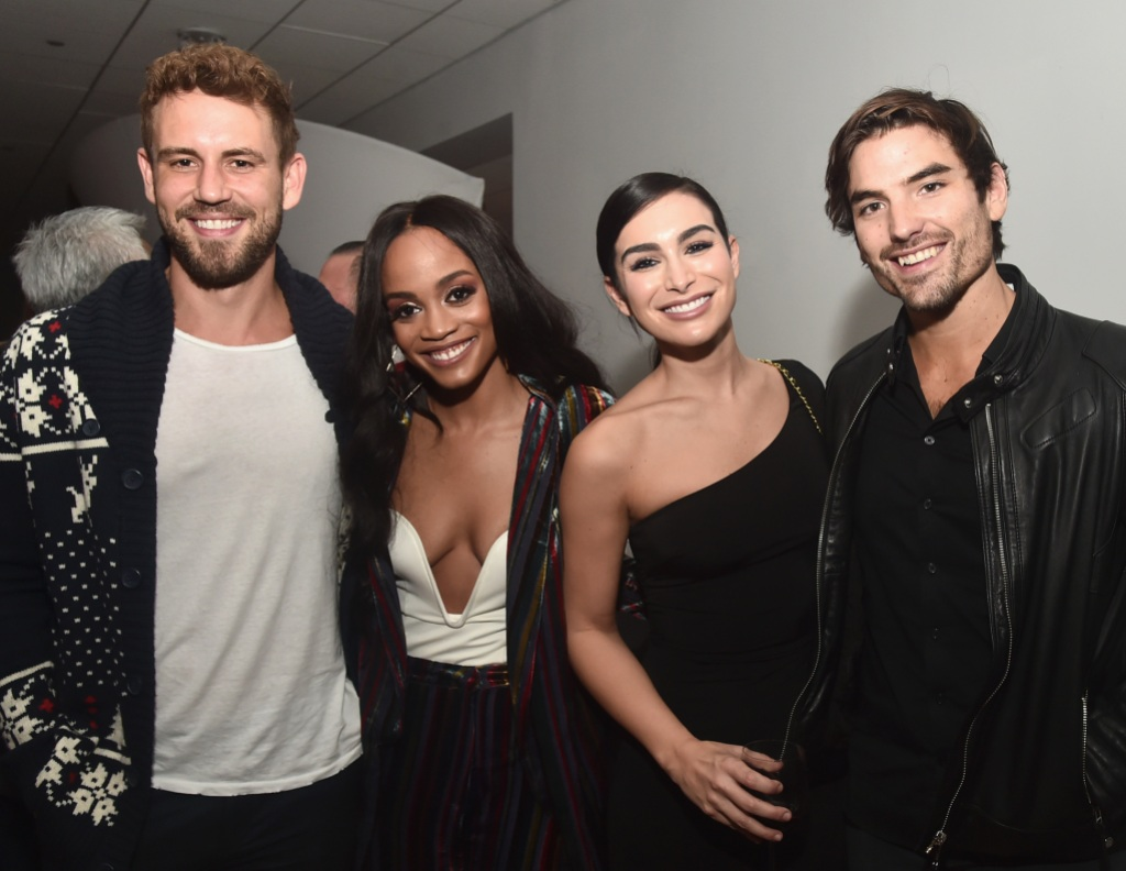 Bachelor Nick Viall, Rachel Lindsay, Ashley Iaconetti and Jared Haibon