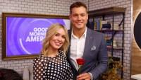 Bachelor stars Colton Underwood Cassie Randolph engagement clue