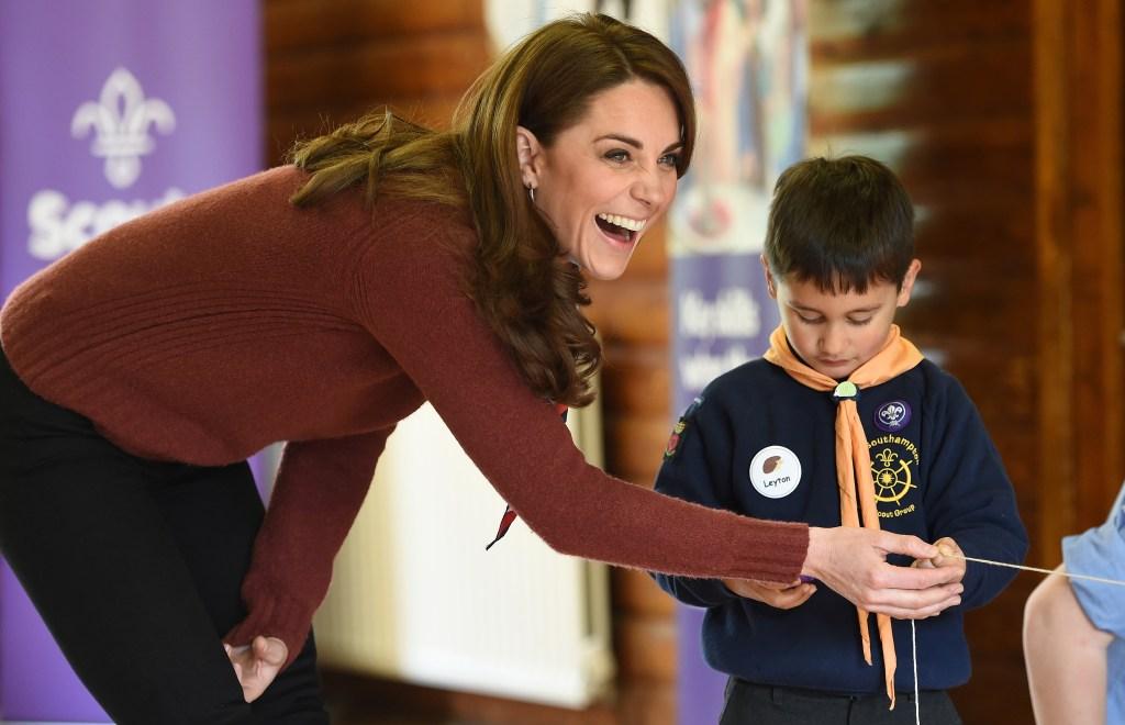 Kate Middleton smiling botox