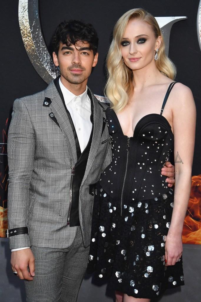 Sophie Turner Joe Jonas GOT premiere wedding details