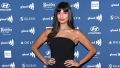 Jameela Jamil black dress pink eyeshadow cellulite photo body positivity