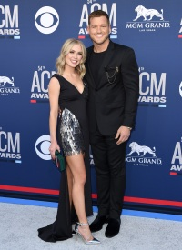 Colton Underwood Cassie Randolph 54th Academy Of Country Music Awards - Arrivals