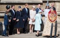 Kate Middleton Prince William at Church