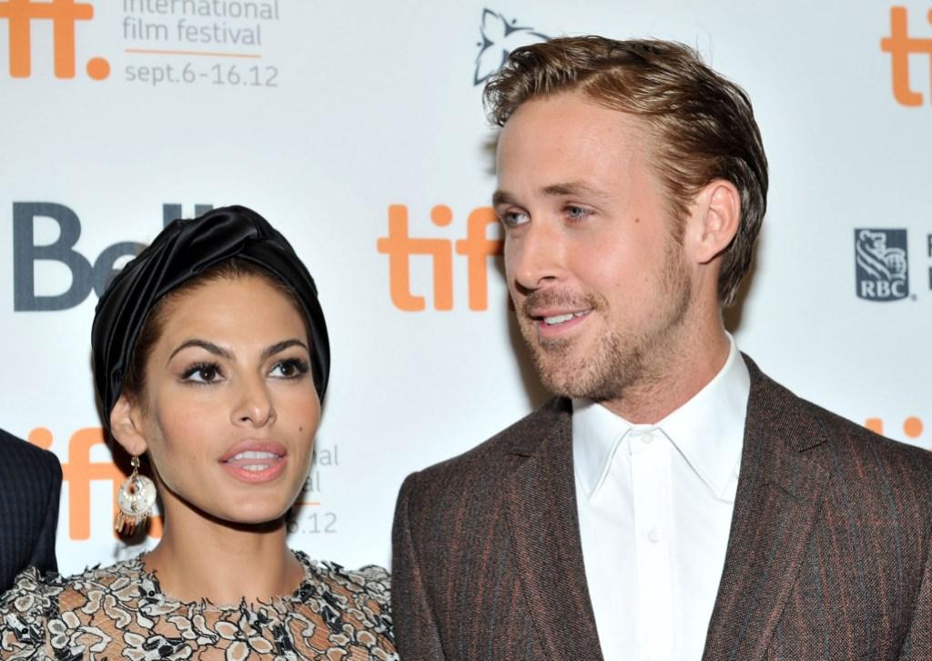 Ryan Gosling Eva Mendes red carpet relationship