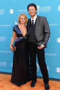 Miranda Lambert and Blake Shelton 2009 ACM Awards