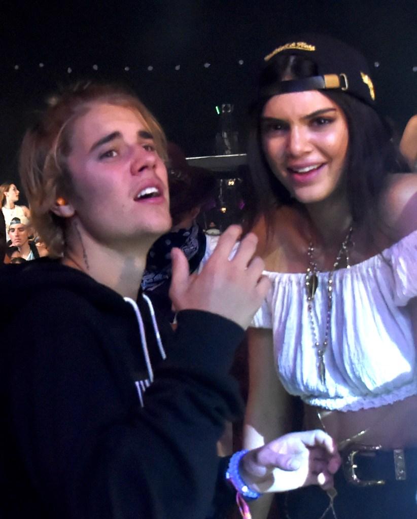 Justin Bieber Kendall Jenner Coachella 2015
