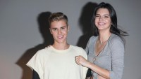 Justin Bieber Kendall jenner friendship throwback photo