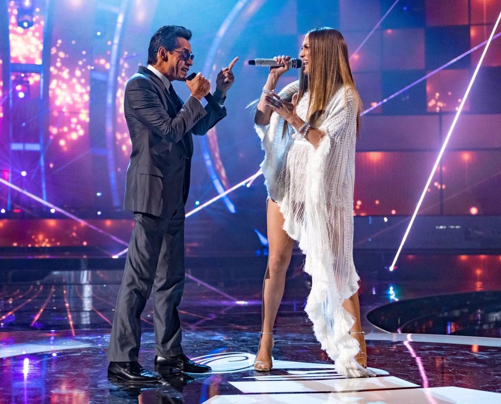 Marc Anthony Jennifer Lopez performing together relationship details