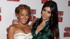 Adrienne Bailon sent Kim Kardashian the sweetest gift