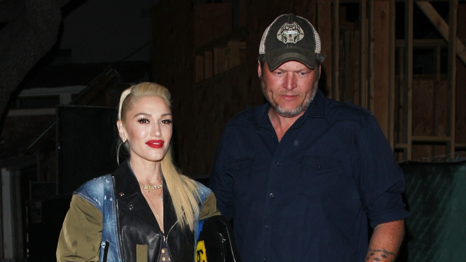 Gwen Stefani Blake Shelton 5 hour dinner date LA