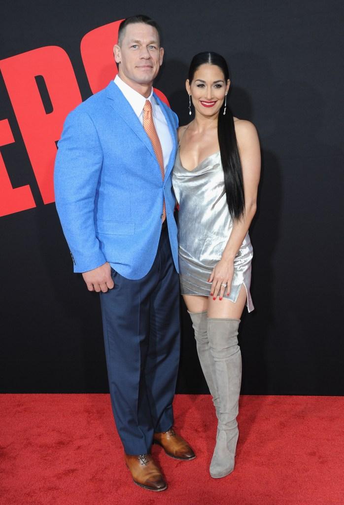 John Cena, Nikki Bella, Red Carpet