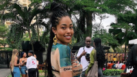 Jordyn Woods in Nigeria