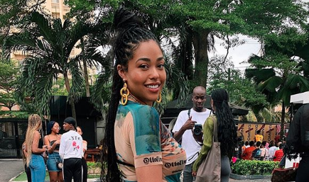 Jordyn Woods Shows Off Her Easter Glam While in Nigeria and Fans Are Obsessed: 'A Kardashian Could Never'