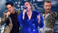 Kelly Clarkson Panic at the Disco Sam Smith BBMA performers
