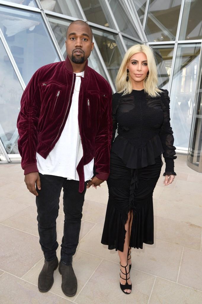 Kim Kardashian, Kanye West, Paris 2015
