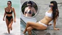 Kourtney Kardashian Bikini Moments