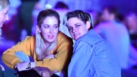 Kristen Stewart stays close to her girlfriend Sara Dunkin at Coachella