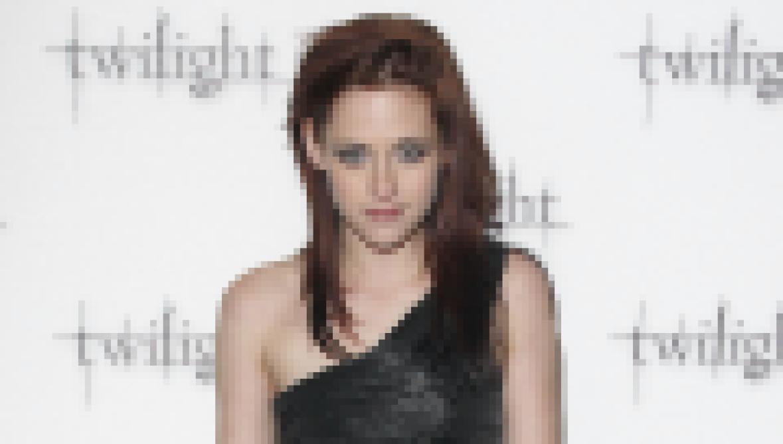 Kristen Stewart in 2008 at the Twilight premiere.