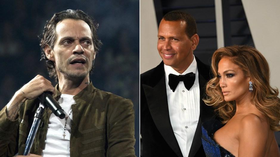 Marc Anthony reaction to Jennifer Lopez Alex Rodriguez engaged