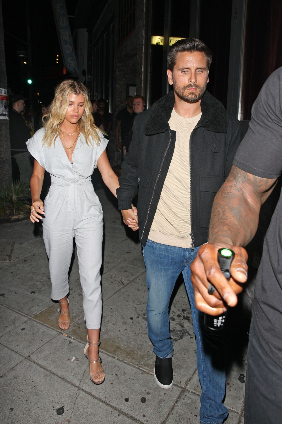 055b178e59d Scott Disick and Sofia Richie Pack on the PDA in L.A. — See Pics!