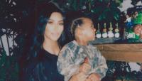Kim Kardashian reveals she jumped over a table when saint had an allergic reaction