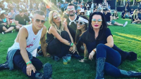 real housewives of beverly hills Kyle Richards Teddi Mellencamp Arroyave coachella